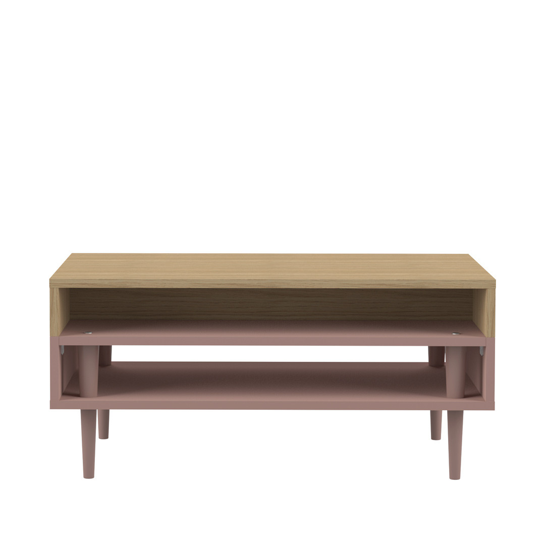 Table basse contemporaine rectangulaire Olivio