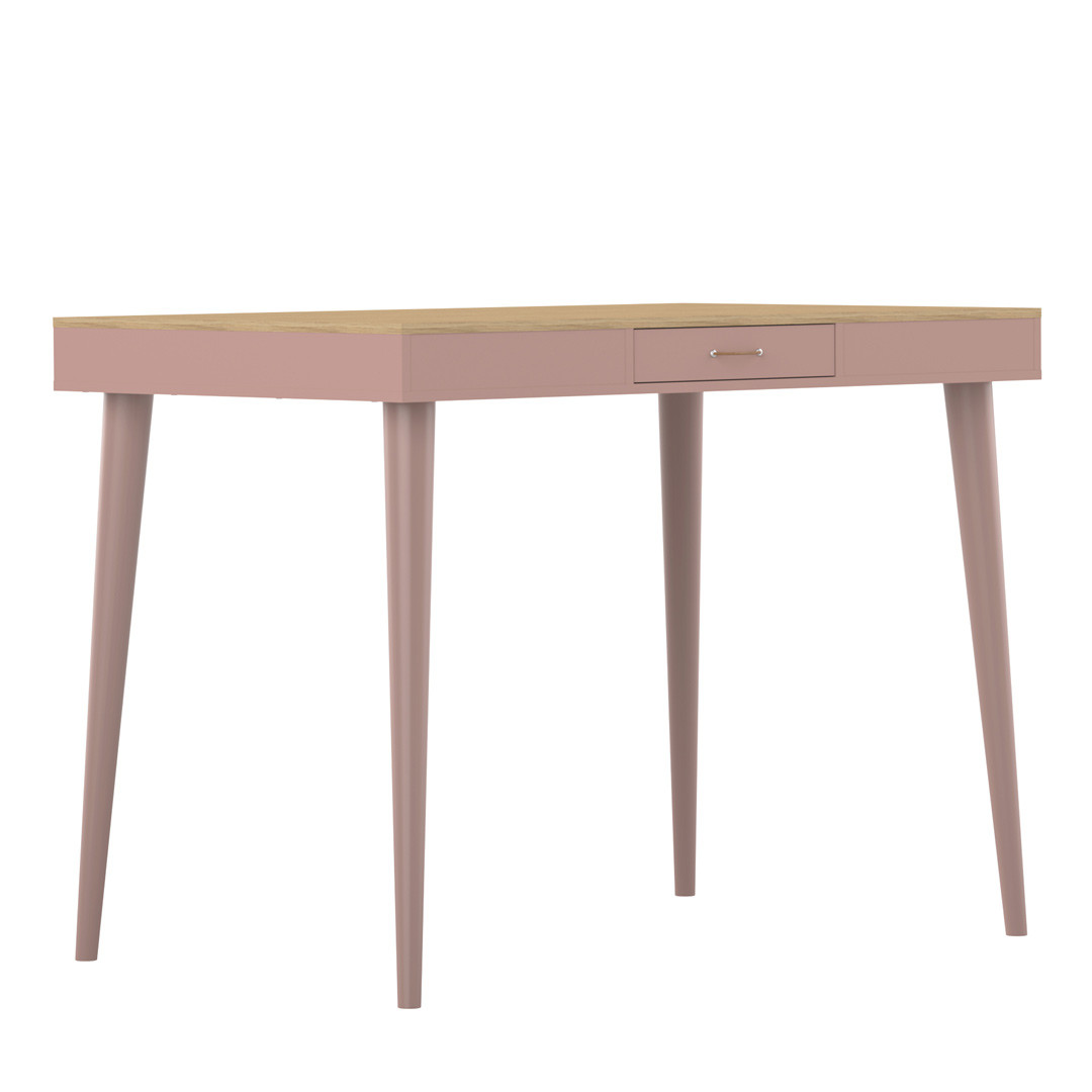 Table haute de cuisine contemporaine Olivio