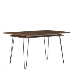 Table de salle à manger extensible design Lorena