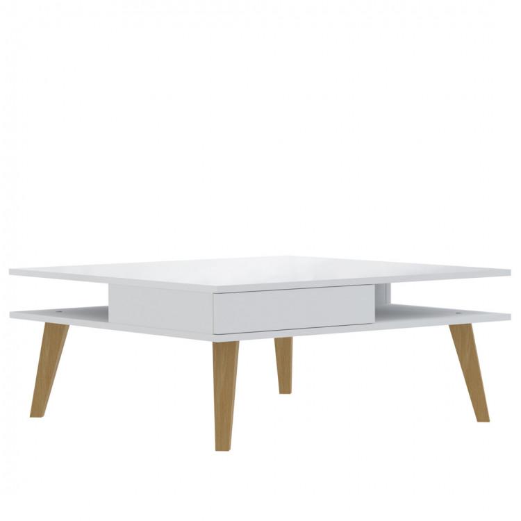 Table basse contemporaine carrée Frida