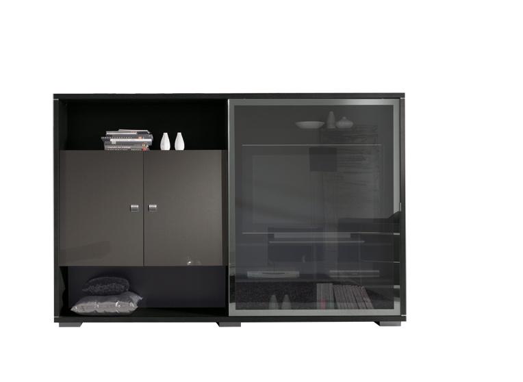 Living design chêne anthracite/gris foncé Streamy II