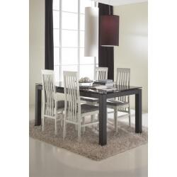 Table de salle à manger avec allonge design LINEA