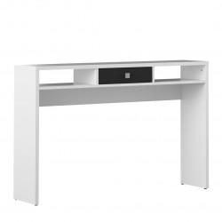 Console contemporaine blanc/noir Alrik