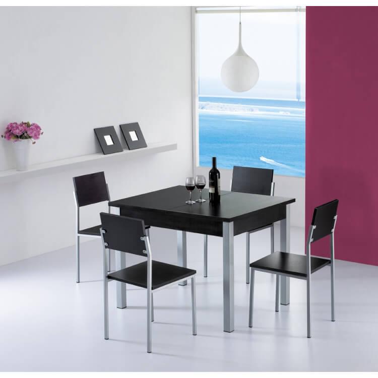 Extensible Chaises Santorin Table Et 4 IYfy6v7bgm