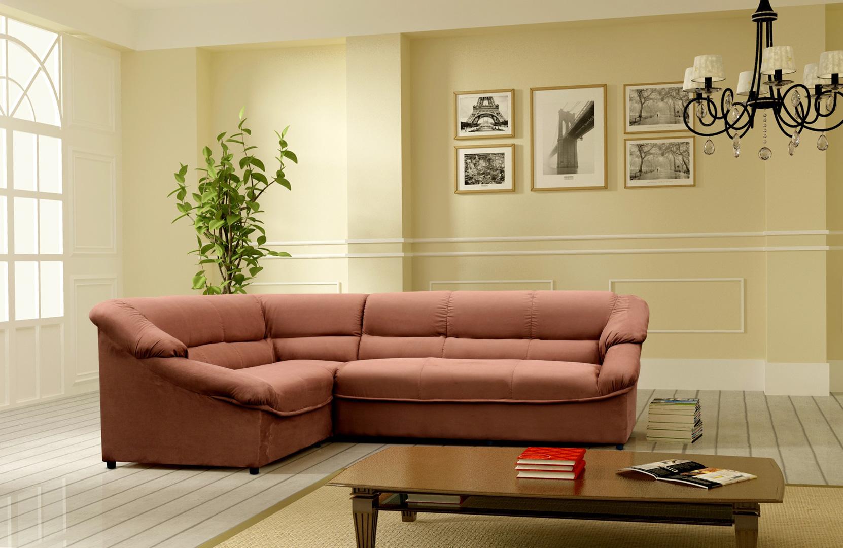Canapé d'angle fixe PALMA