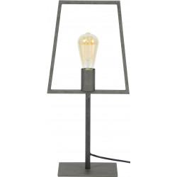 Lampe de table industrielle en métal noir Alexandra