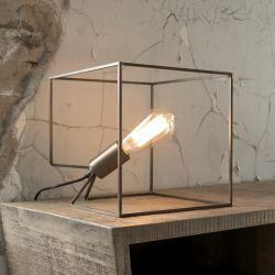 Lampe de table design en métal bronze antique Sasha