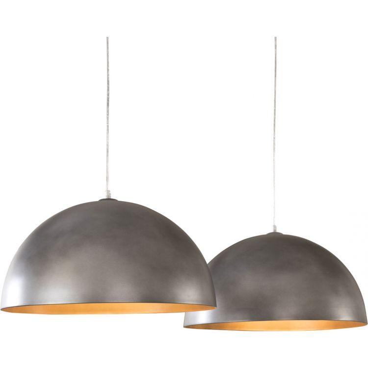 Métal En Cm Lise 50 Gris Ø Suspension Design Lampes 2 0vm8ONnw