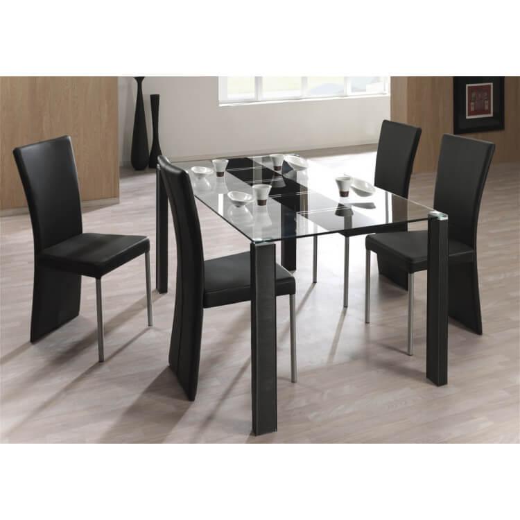 Ensemble table et 4 chaises SYMPHONY