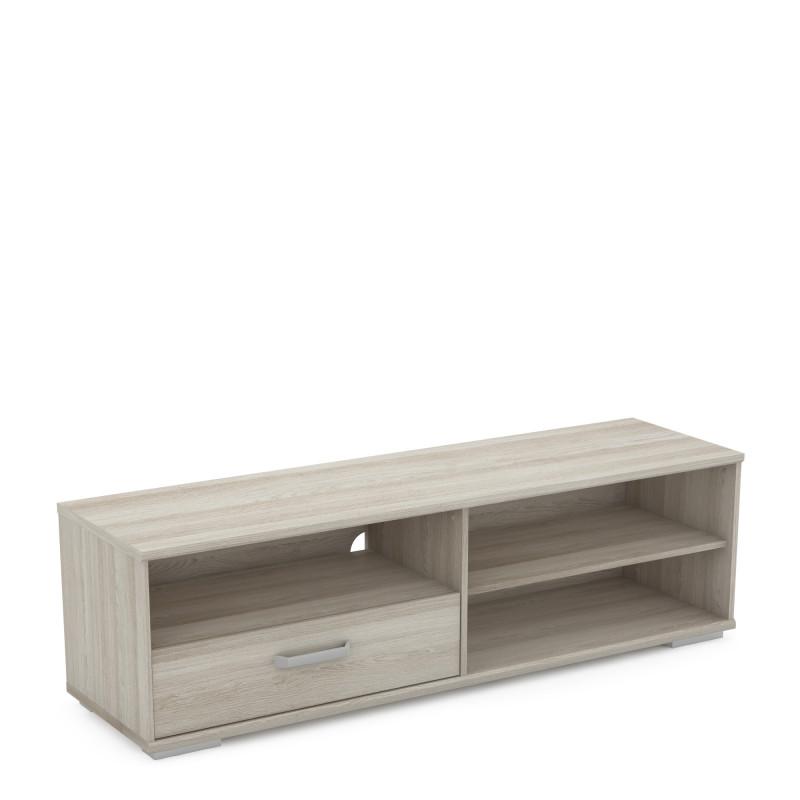 meuble tv contemporain ch ne clair sharone matelpro. Black Bedroom Furniture Sets. Home Design Ideas