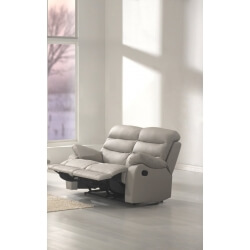 Canapé de relaxation 2 places 2 relax cuir RONALD
