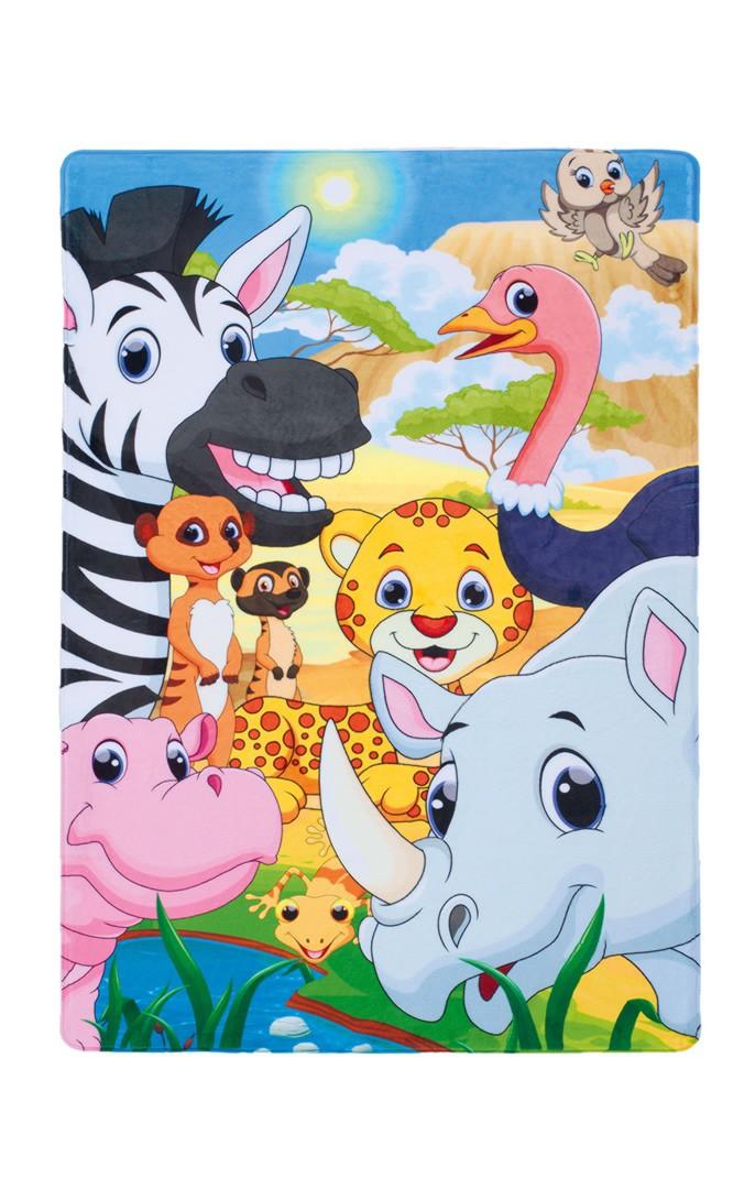 Tapis multicolore pour enfant Savannah