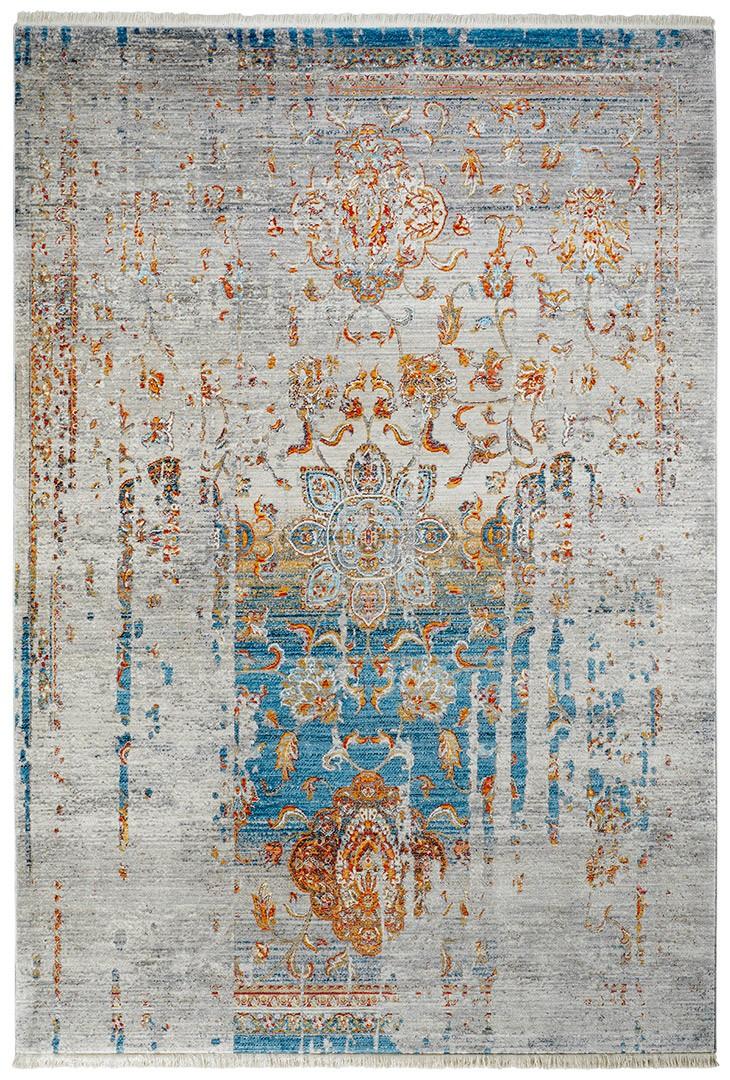 Tapis en polyester vintage pour salon Hakin