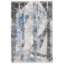 Tapis géométrique en polyester Game