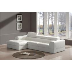 Canapé d'angle fixe design LARA