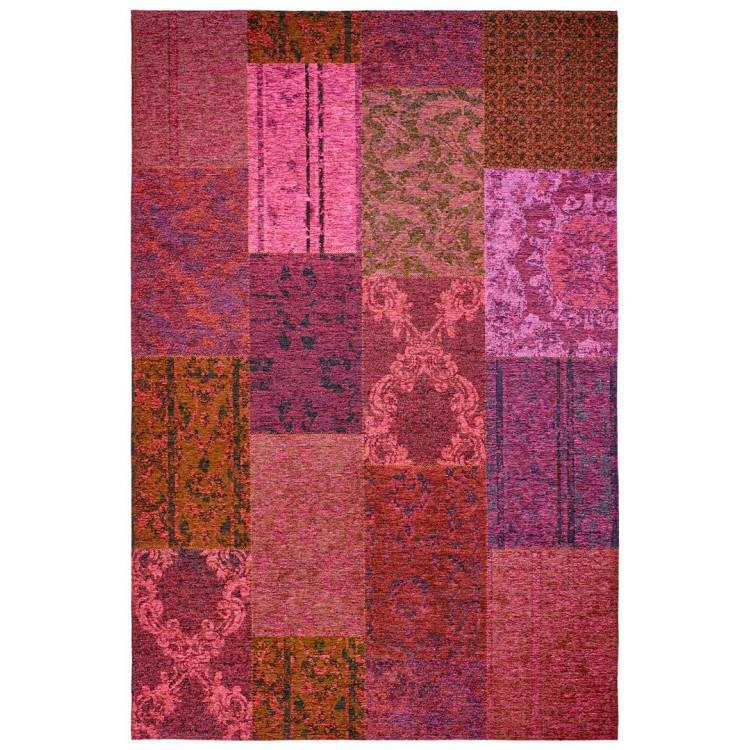 Tapis plat patchwork effet vintage Burmade