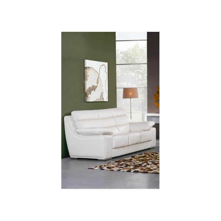 Canapé cuir pas cher design