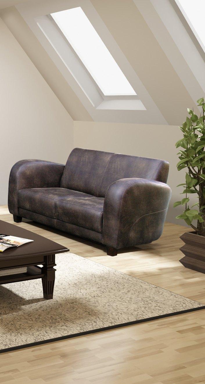 Canapé fixe 2 places RAMI