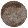 Tapis rond en polyester doux shaggy Wow
