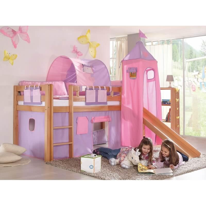 lit sur lev enfant carla matelpro. Black Bedroom Furniture Sets. Home Design Ideas