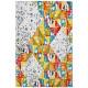 Tapis coloré design pour salon rectangle Pelago