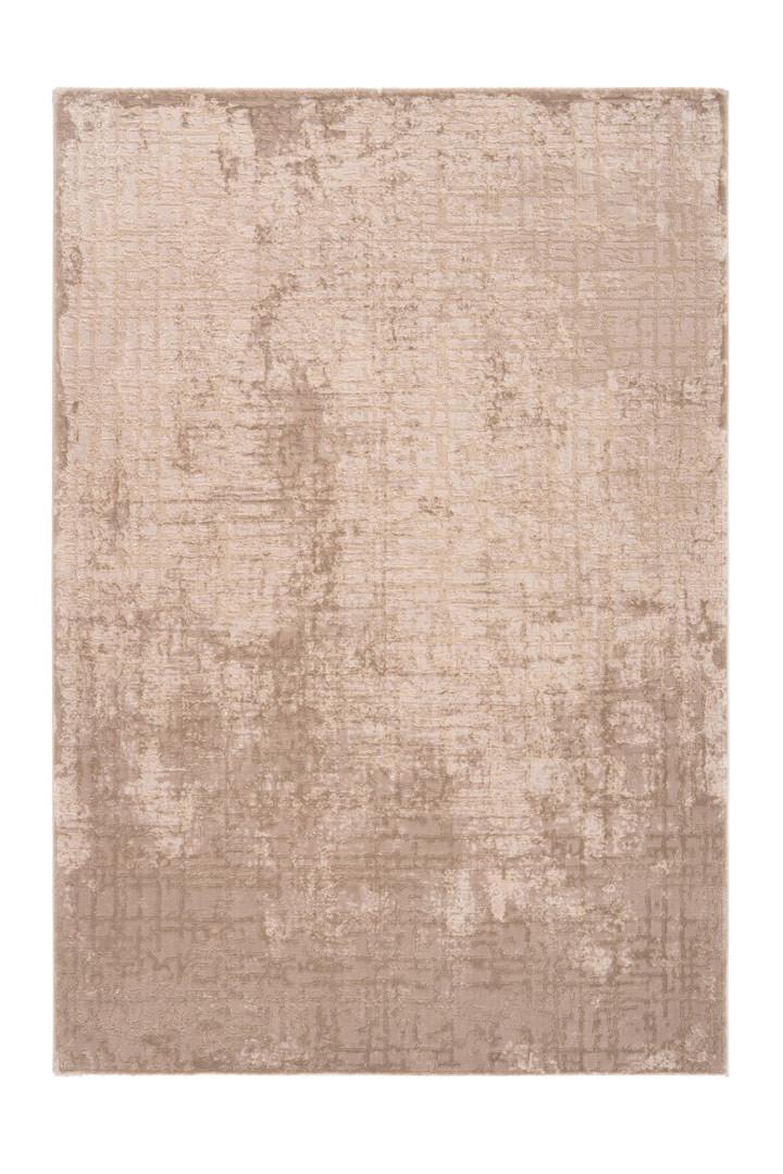 Tapis vintage rayé avec franges doux Vero