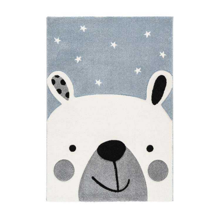 Tapis rectangle enfant effet 3D Fantasia