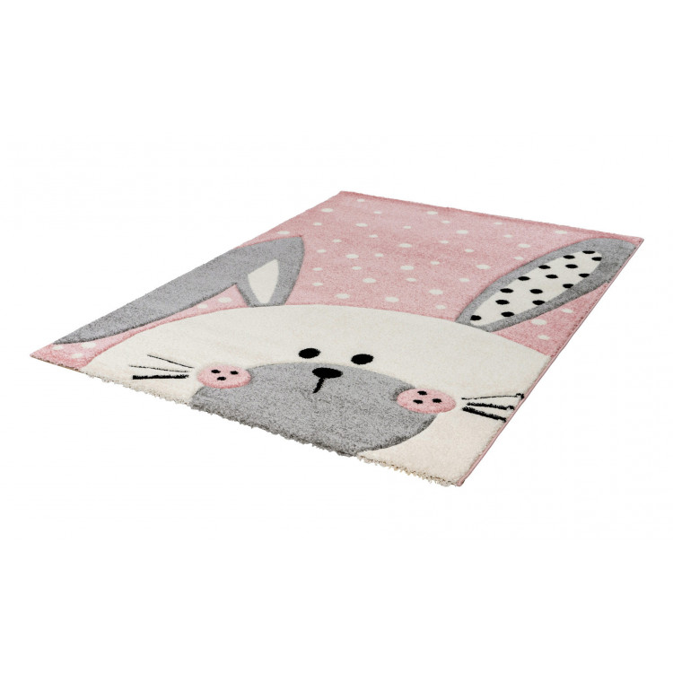 Tapis effet 3D enfant rectangle Justin