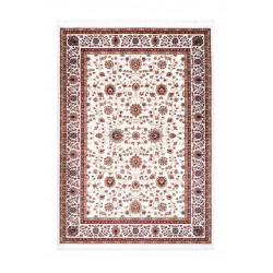 Tapis d'orient avec franges en polyester Cedar