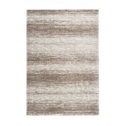 Tapis rayé de salon doux rectangle Doris