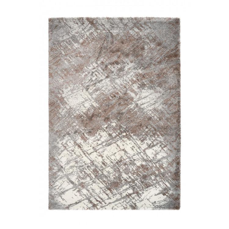 Tapis doux rectangle rayé de salon Baltic