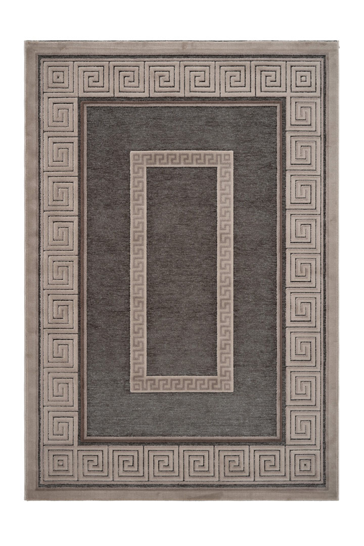 Tapis brillant baroque rectangle Antika