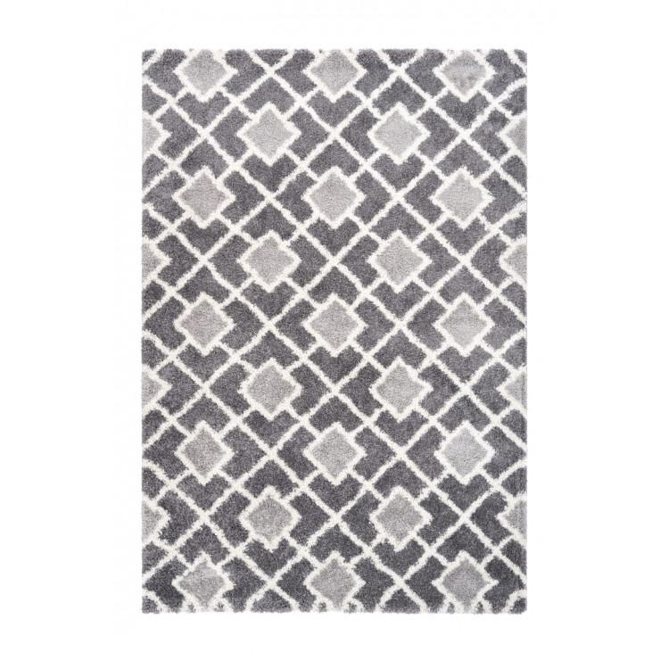 Tapis shaggy géométrique design Magic