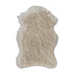 Tapis à longues mèches en peau de mouton synthétique Softa