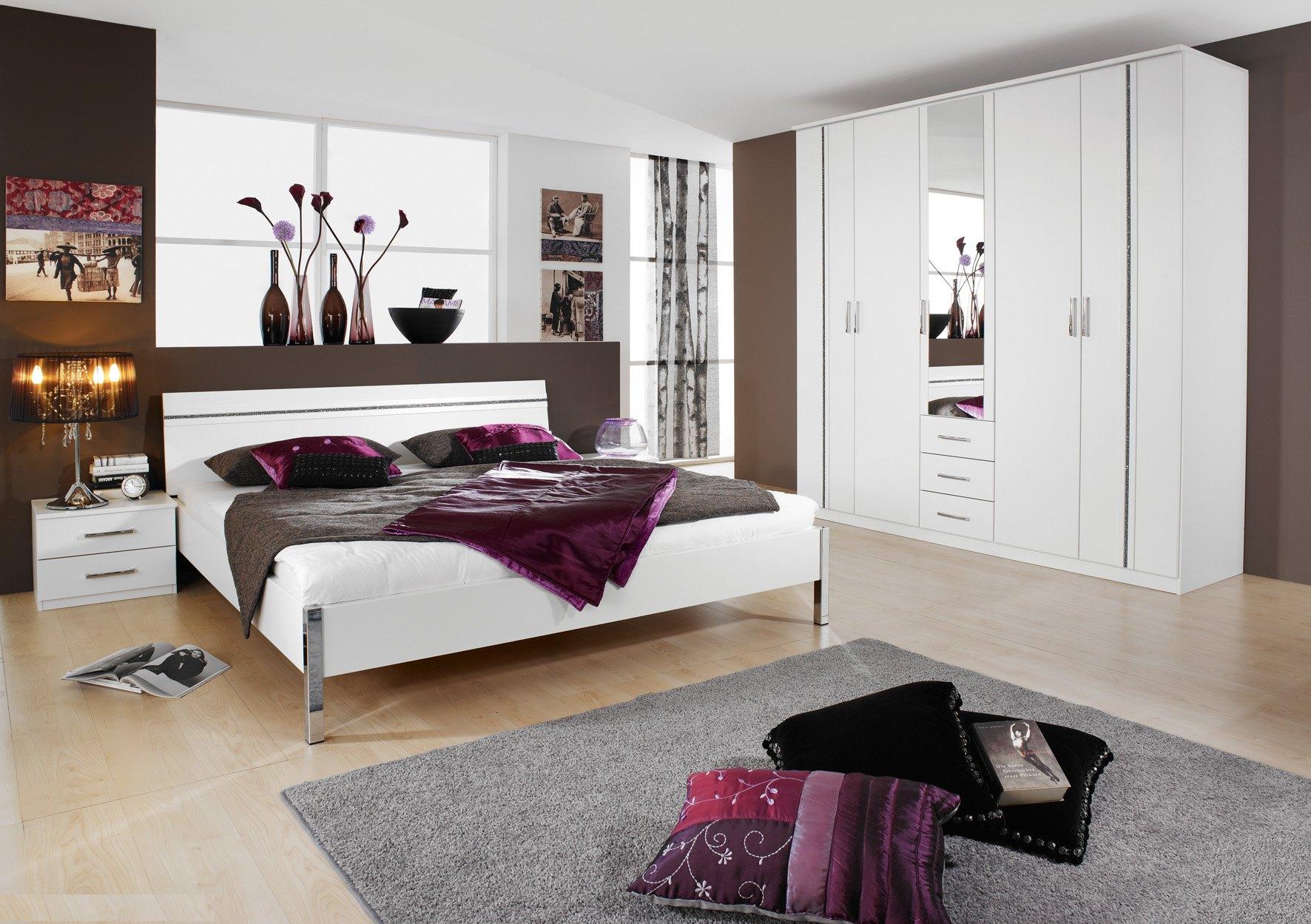 Chambre adulte design blanche Trophee