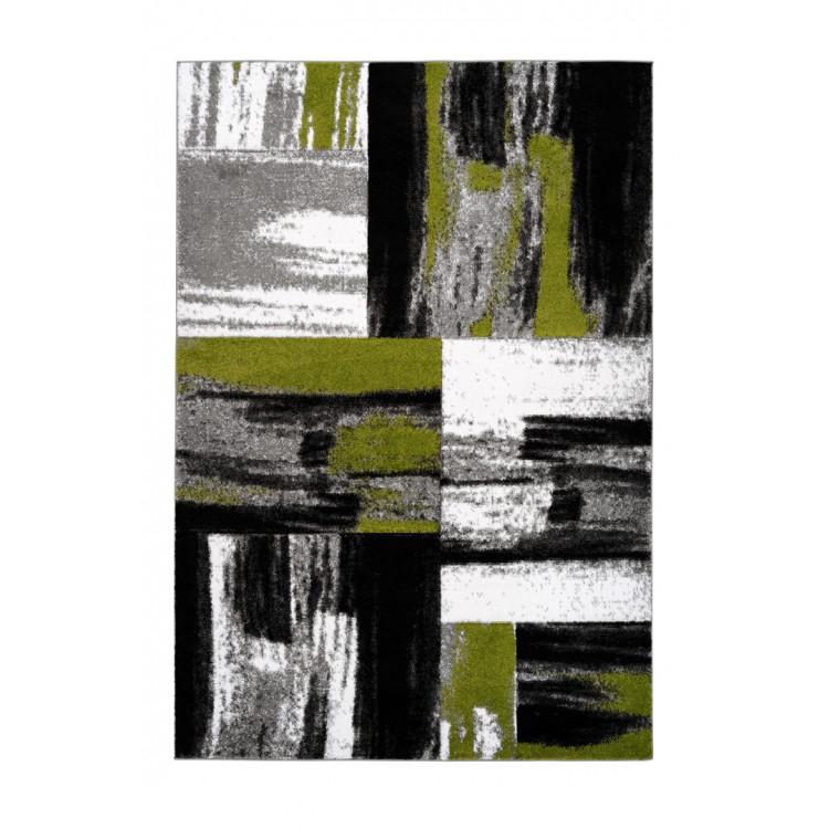 Tapis moderne effet 3D rectangle Aramon