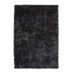 Tapis de salon uni shaggy doux Twist