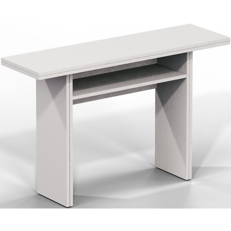 Table Console Extensible Contemporaine En Bois Selena