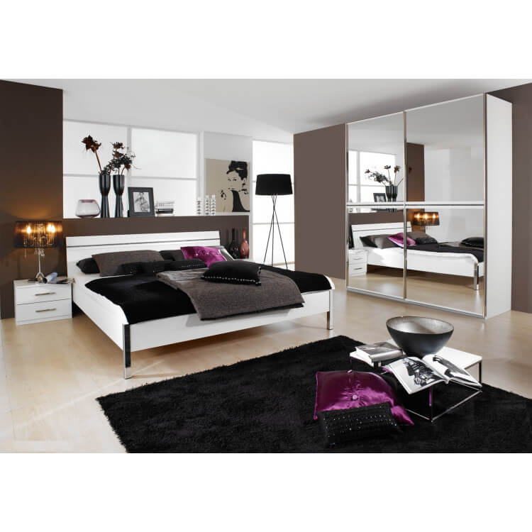 chambre compl te design trophee ii matelpro. Black Bedroom Furniture Sets. Home Design Ideas