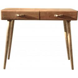 Console scandinave en bois d'acacia naturel Denise