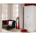 Armoire contemporaine blanche 91 cm Epsylon