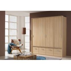 Armoire 4 portes & 4 tiroirs ADEN III