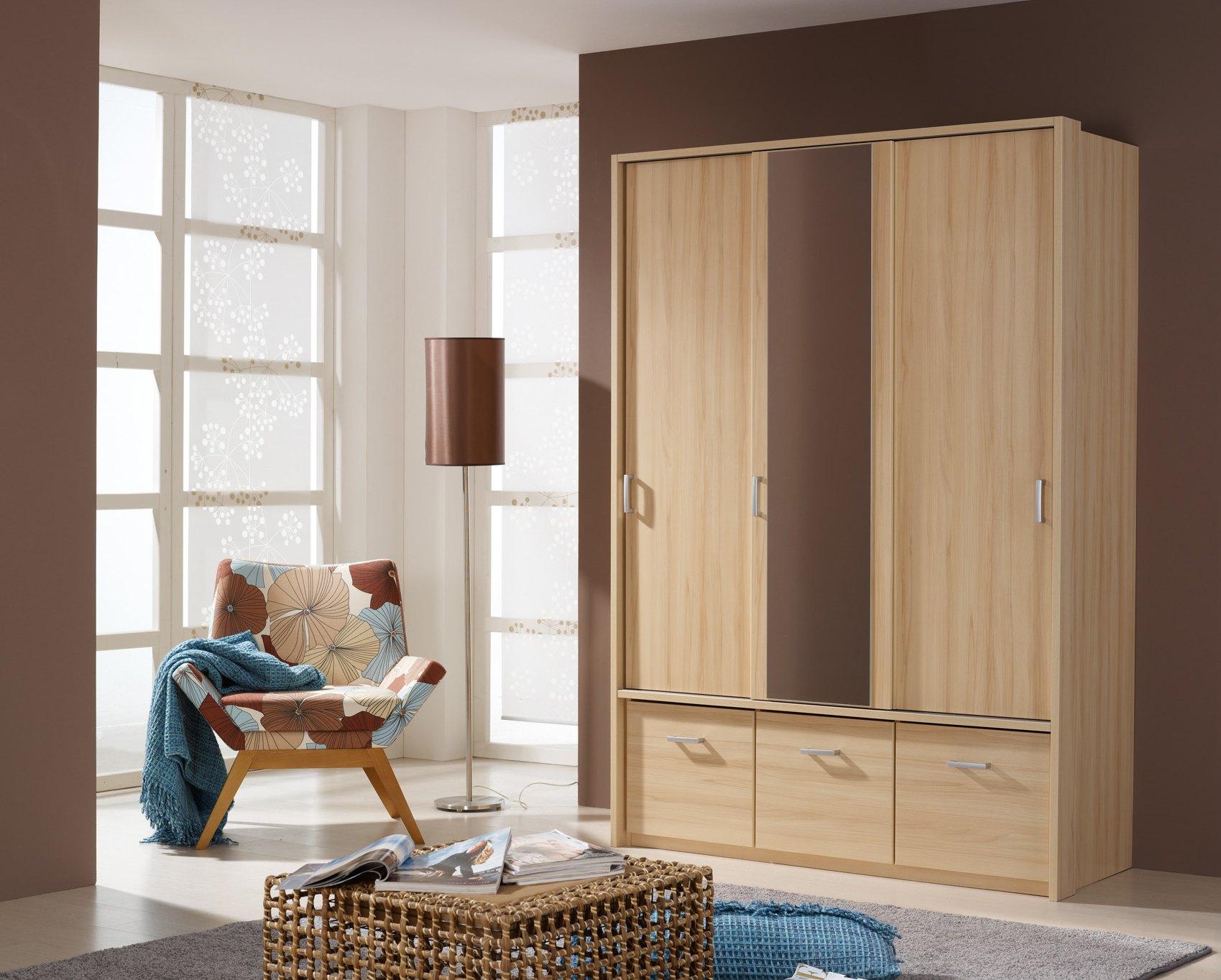 Armoire 3 portes & 3 tiroirs ADEN II
