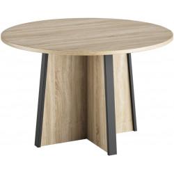Table de réunion ronde contemporaine Angelo