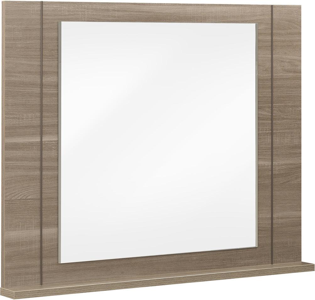 Miroir rectangulaire chêne fusain Kruger