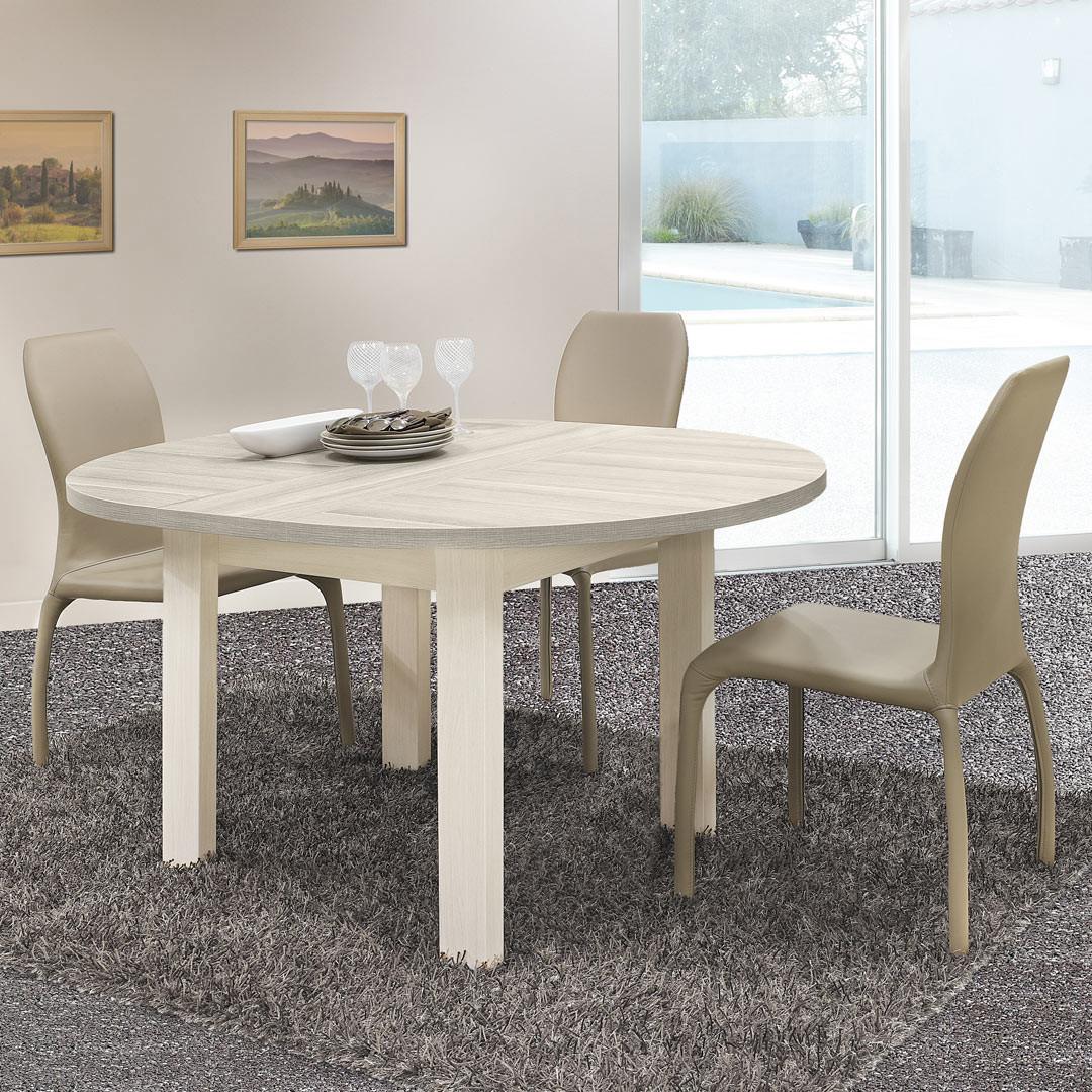 Table ronde de salle à manger contemporaine Palerme  Matelpro