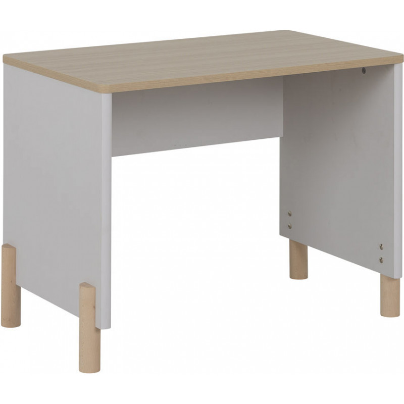 commode enfant scandinave gris clair sidonie matelpro. Black Bedroom Furniture Sets. Home Design Ideas