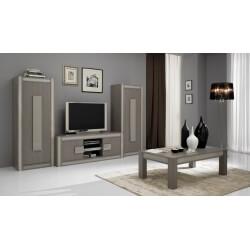 Meuble TV pour écran plasma & 2 colonnes SOFIANE