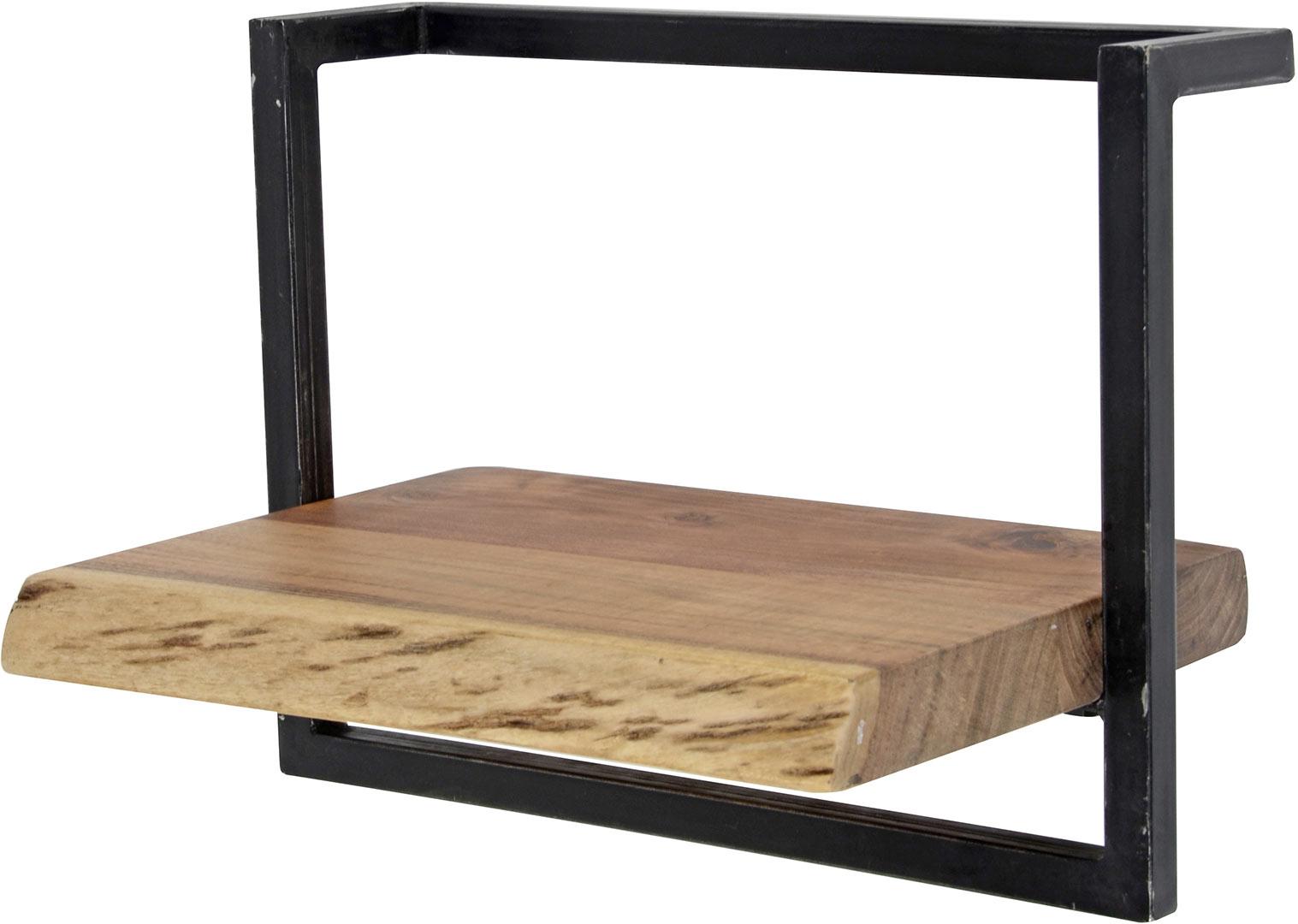Etagère industrielle en bois massif Paolina III