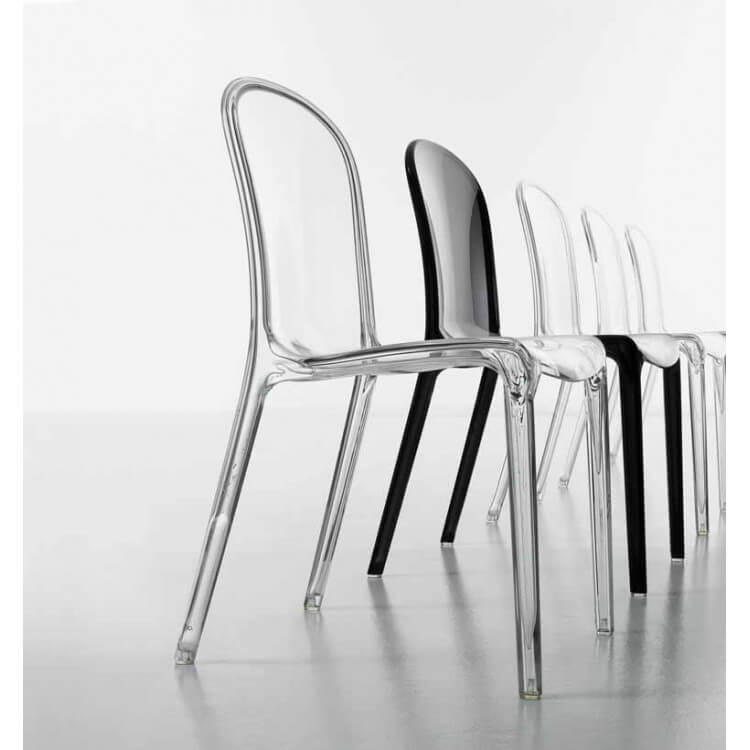Lot de 4 chaises de salle à manger SHINE